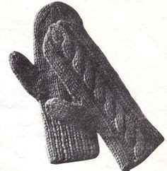 gloves knitting pattern two needles 1000 ideas about knit mittens on mittens