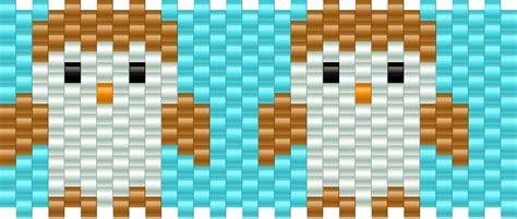 owl pony bead pattern owls pony bead patterns animals kandi patterns for kandi