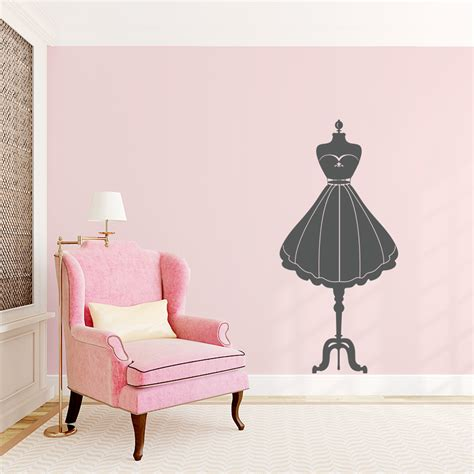 fashion wall stickers fashion mannequin wall decal
