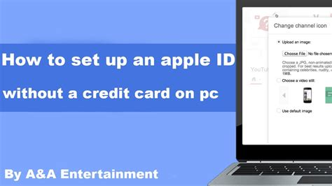 apple id without credit card how to set up an apple id without a credit card on