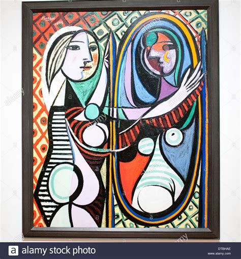 picasso paintings in new york city before a mirror by pablo picasso at the museum of