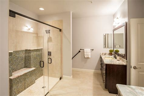 award winning bathroom design fyfe additions handicap and ada projects in ellicott city md award winning bathroom with