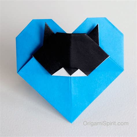 origami cat cat an origami with a cat