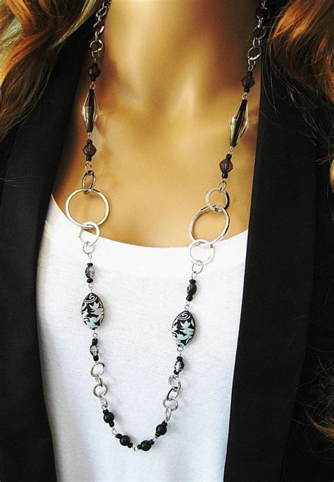 how to make jewelry chain best 25 beaded necklaces ideas on