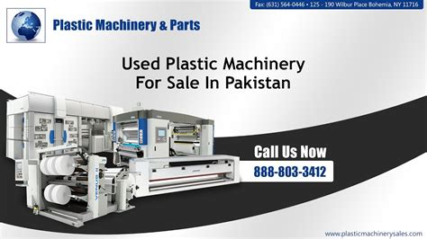 machinery for sale used plastic machinery for sale in pakistan