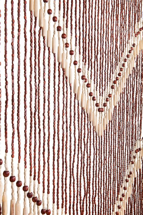 wood beaded curtains handmade door beaded curtains 52 strands of hang
