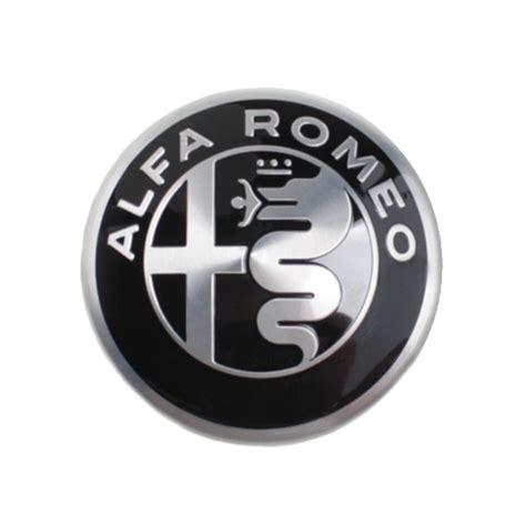 Alfa Romeo Emblem by Alfa Romeo Felgen Emblem Schwarz Silber Alfa Romeo Shop