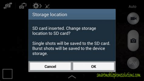 how to make sd card default storage how to set sd card as default storage on samsung galaxy