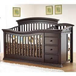 baby cribs with changer sorelle verona 4 in 1 convertible crib changer