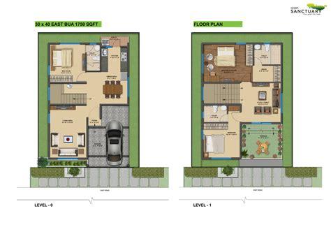 house plans for 30x40 site 3 bedroom 30x40 house floor plan studio design