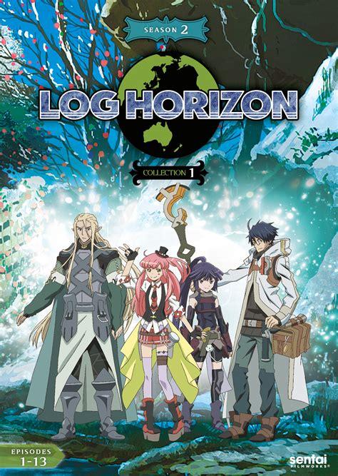 log horizon log horizon 2 collection 1 dvd