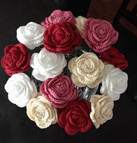 knitted bouquet pattern 25 best ideas about crochet bouquet on free