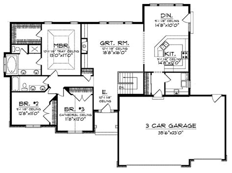 ranch plans with open floor plan ranch homes open floor plan small ranch homes open plan house plans mexzhouse
