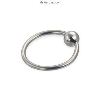 how to use a captive bead ring captive bead ring 16 ga at mspiercing