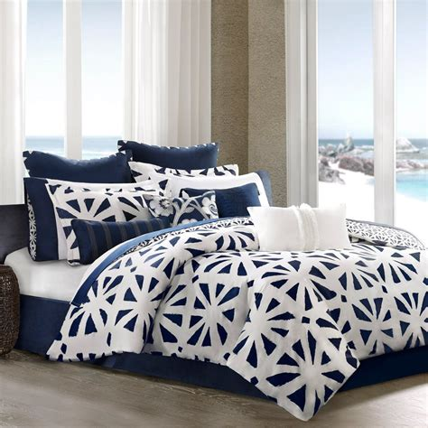 black white and blue comforter sets total fab navy blue and white comforter and bedding sets
