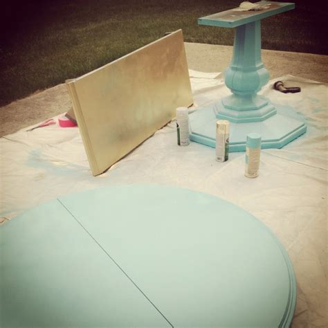 spray paint kitchen table 101 best images about oak tables on
