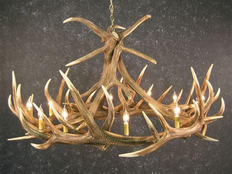 elk horn chandelier sale elk 9 antler chandelier sale