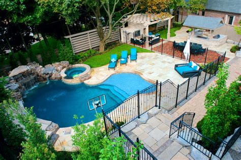 pictures of backyard pools a backyard pool oasis traditional pool toronto by