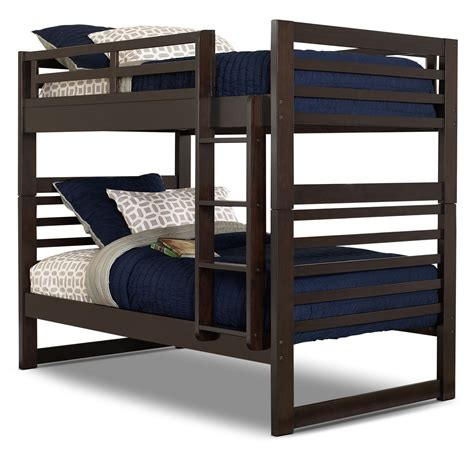 cheap bunk beds canada chadwick bunk bed espresso the brick
