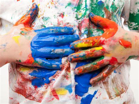 paint crafts for 5 fingerpainting ideas