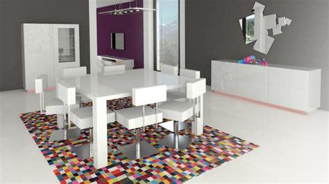 table carr 233 e design 140x140 cm avec rallonges veliki mobilier moss