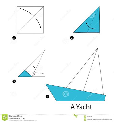 how to make a origami boat step by step step by step how to make origami a yacht
