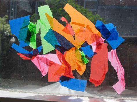 tissue paper suncatcher craft tissue paper suncatchers nurturestore