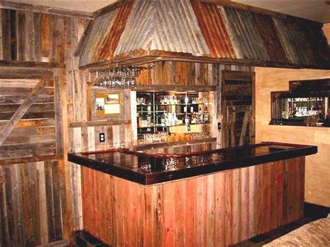 Bar Styles by Rustic Style Home Bars Easy Home Bar Plans