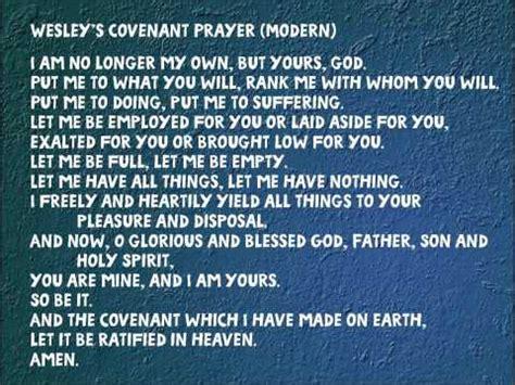 methodist prayer wesley s covenant prayer modern