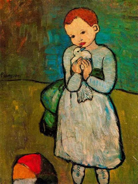 picasso paintings as a child vicsmuse picasso paintings and photos with children