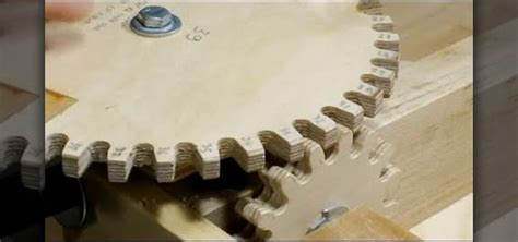 how to make wooden how to make wooden gears for complex woodworking projects