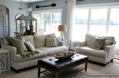 paint colors for living room with blue furniture santorini blue favorite paint colors