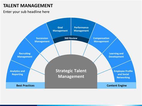 talent management powerpoint template sketchbubble