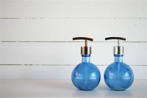 recycled glass bathroom accessories rail19 recycled glass soap dispensers modern bathroom