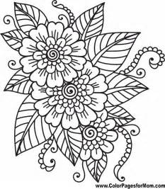 coloring book pictures of flowers best 25 flower coloring pages ideas on