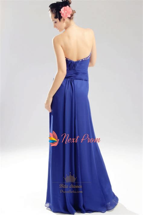 royal blue beaded dress royal blue chiffon evening dress chiffon beaded illusion