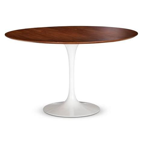 white pedestal dining table pedestal white and brown dining table