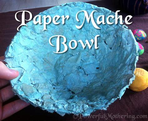 paper mache crafts paper mache bowl craft