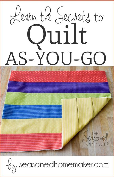quilt as you go 25 best ideas about quilt as you go on how to