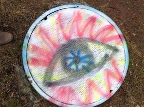 spray paint eye of th handeye last and all the time g
