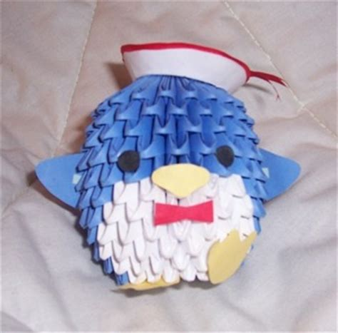 3d origami penguin 3d origami penguin car interior design