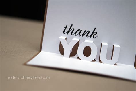 how to make a pop up thank you card free downloads jin s pop up thank you cards a