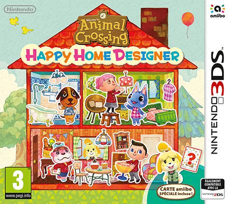 animal crossing home design animal crossing happy home designer nintendo 3ds jeux