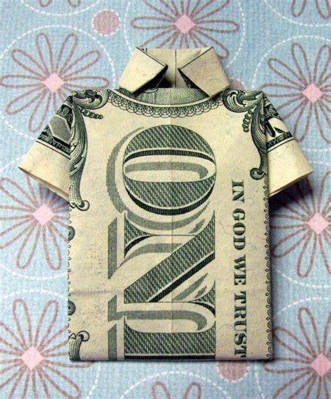 dollar bill origami shirt and origami money shirts s day