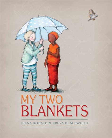 my picture book my two blankets reading time