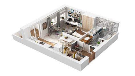 30 sqm house interior design 40 square meter apartment design in rome 3d
