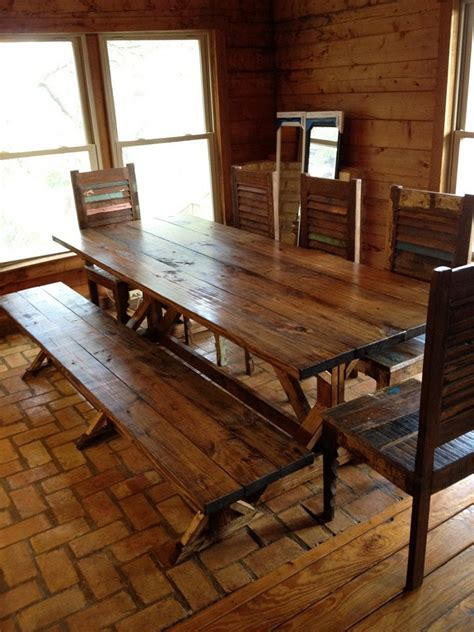 bench dining room tables save your limited space with diy dining table ideas