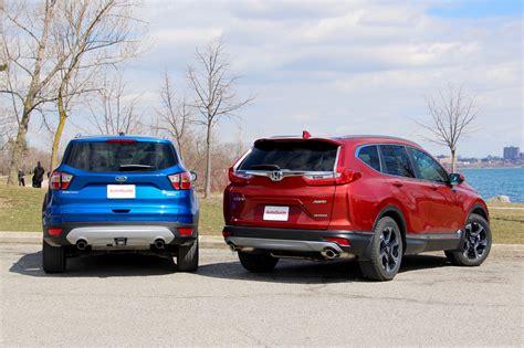 2017 Vs 2018 Crv by 2017 Ford Escape Vs Honda Crv Best New Cars For 2018