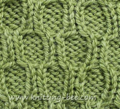 honeycomb knit stitch honeycomb trellis cable knitting stitches cables