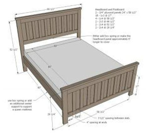 measurements for a bed home design ideasqueen size bed frames